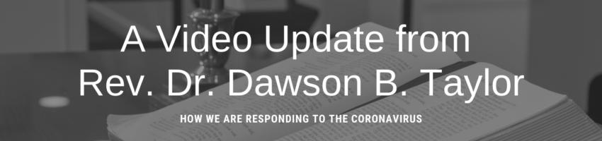 Update from Dawson
